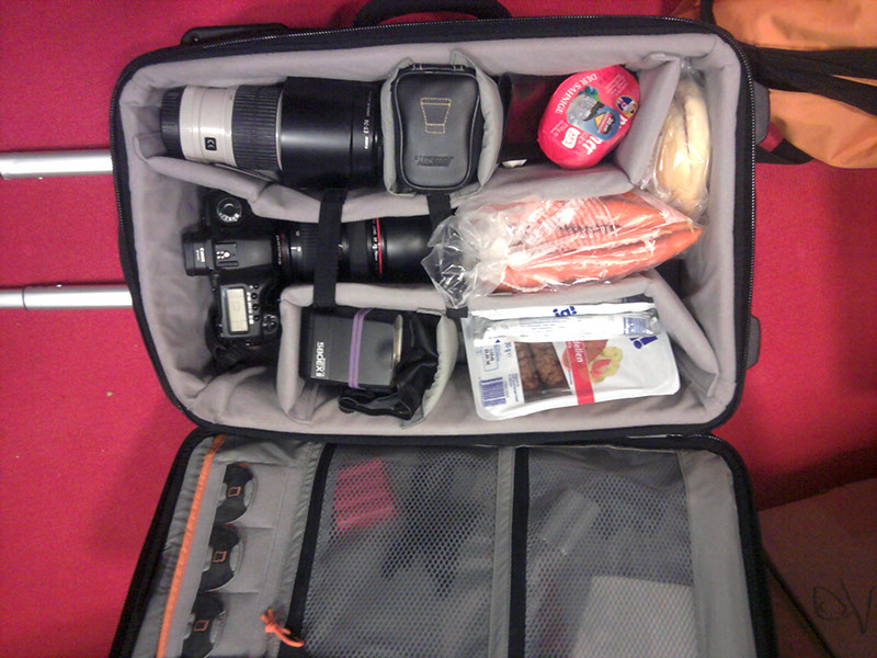 Eine Tasche voll guter Vorbereitung...