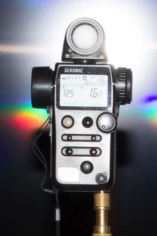 Leistung des Speedlite 580 EX II bei 50mm: Blende 16 (+2/10)