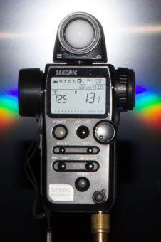 Leistung des Speedlite 580 EX II bei 28mm: Blende 13 (+1/10)