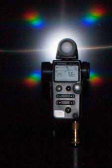 Der Aufklappblitz der EOS 40D: Blende 5.6