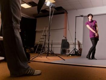 Making of-Foto von Andreas Springer (Teilnehmer des All 4 One-Workshops in Heidelberg)