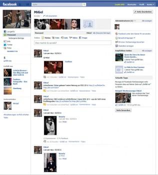 MiGel bei Facebook (neu)