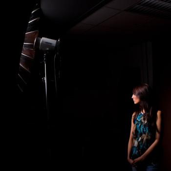 Machen schönes Licht: Die Quenox-Parabolschirme. (hier: der 105er Schirm)