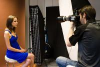 Photograph Michael Gelfert und Model im Studio 2