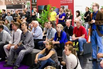 IMG 97961 350x233 Photokina: Mein 1.Tag   ein Vortrag, Drew Gardner & Guido Karp