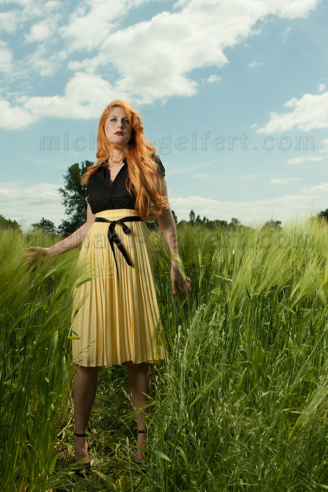 Fashionshooting MiGel Feld Hensel Highspeed-sync RAW-Bild