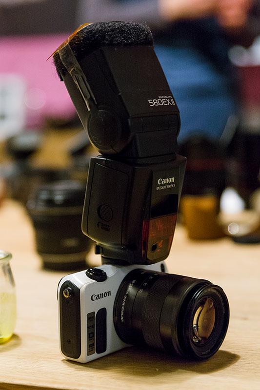 MIG 0563 Canon EOS M in der Praxis: Nelson Müller im Blitzlichtgewitter