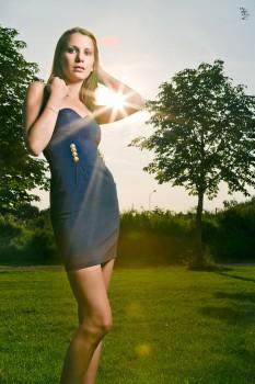 Outdoor-Bild mit Blitz gegen die Sonne 2