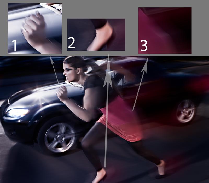 """Ahead""; Fotograf: Michael Gelfert; Model: Yasemin Delen (model managment hamburg); H&M: Theresa Schütz"