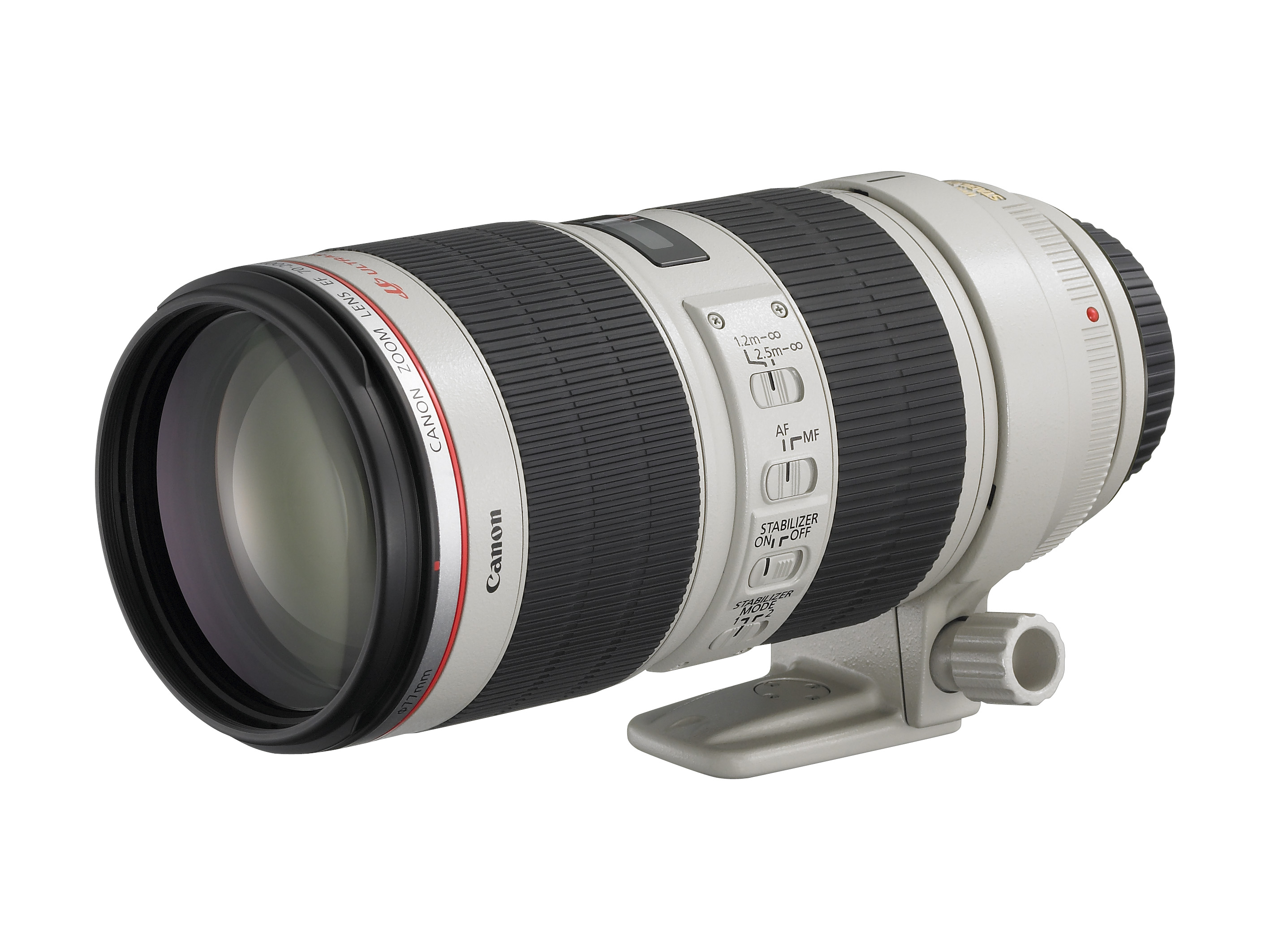 EF 70-200mm f2.8L IS II USM (Foto: Canon)