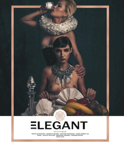 We are the Jewels Cover Elegant Magazine